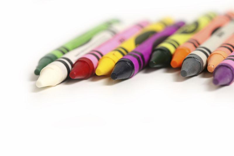 Crayons Shallow DoF